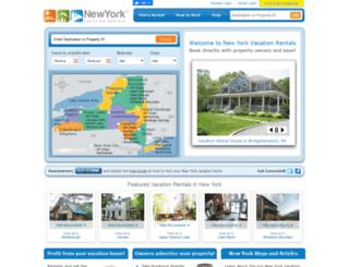 nyvacationrentals.com screenshot