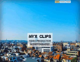 nyx-clips.com screenshot