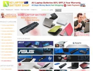 nz-laptop-battery-shop.com screenshot