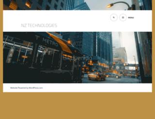 nz-technologies.com screenshot