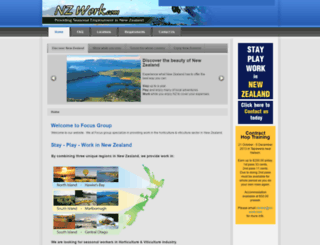 nz-work.com screenshot