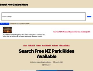 nz.online-listing.com screenshot