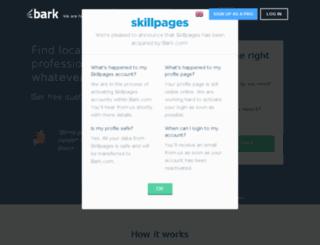 nz.skillpages.com screenshot