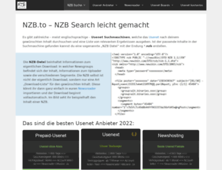 nzb.to screenshot