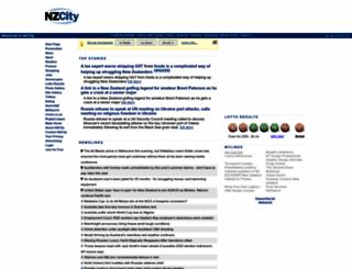 nzcity.co.nz screenshot