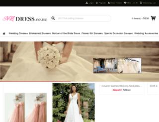 nzdress.co.nz screenshot