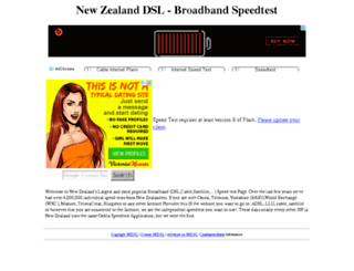 nzdsl.co.nz screenshot