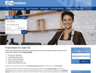 nzfranchises.co.nz screenshot