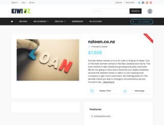 nzloan.co.nz screenshot