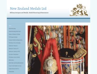 nzmedals.com screenshot