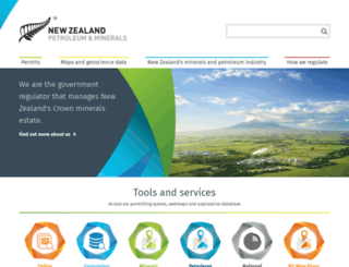 nzpam.govt.nz screenshot