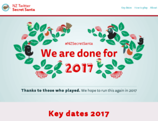 nzsecretsanta.nzpost.co.nz screenshot