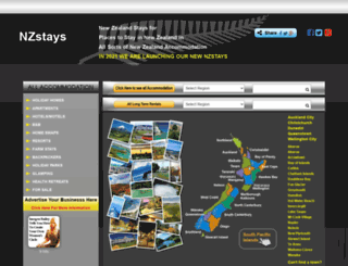 nzstays.co.nz screenshot
