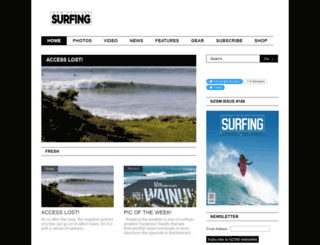 nzsurfmag.co.nz screenshot