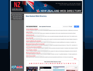 nzwebdir.com screenshot