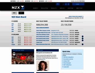 nzx.com screenshot