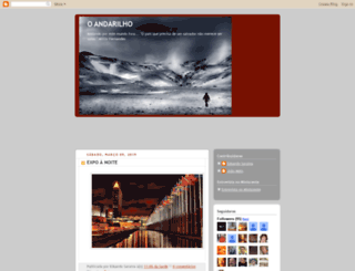 o-andarilho.blogspot.pt screenshot