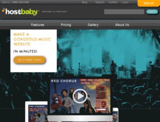 o12.hostbaby.com screenshot