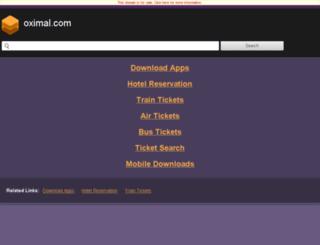 o2.oximal.com screenshot