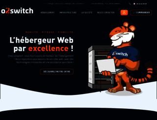o2switch.net screenshot