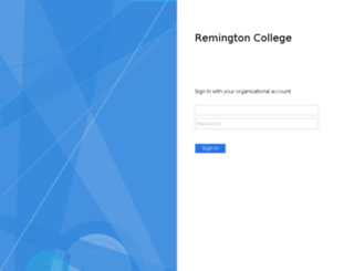 o365.remingtoncollege.edu screenshot
