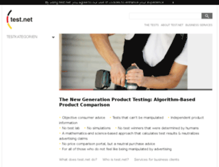 oa.test.net screenshot