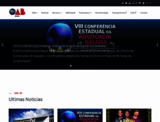 oab-ba.org.br screenshot