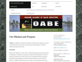 oabeoakland.org screenshot