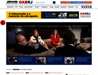 oabrj.org.br screenshot
