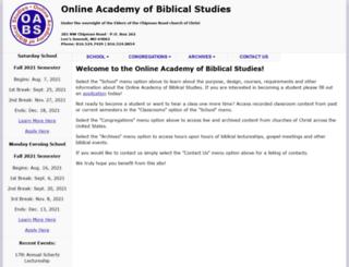 oabs.org screenshot