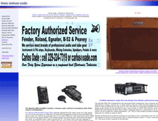 oade.com screenshot