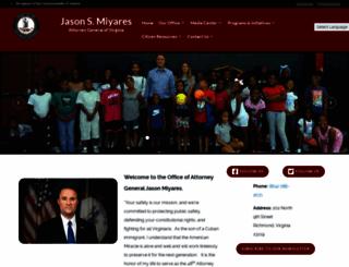 oag.state.va.us screenshot