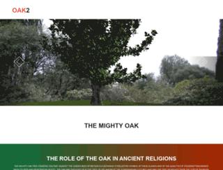 oak2.co.uk screenshot