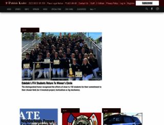 oakdaleleader.com screenshot