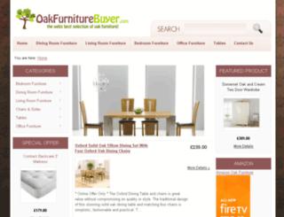 oakfurniturebuyer.com screenshot