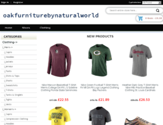 oakfurniturebynaturalworld.co.uk screenshot