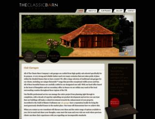 oakgarages.com screenshot