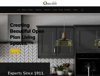 oakland-leicester.co.uk screenshot