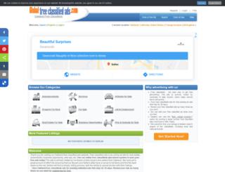 oaklandca.global-free-classified-ads.com screenshot