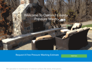 oaklandcountypressurewash.com screenshot