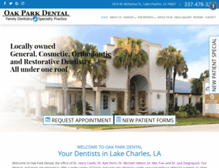 oakparkdental.com screenshot