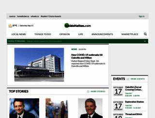 oakvillebeaver.com screenshot