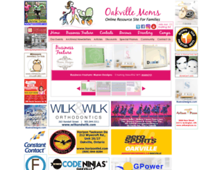 oakvillemoms.com screenshot