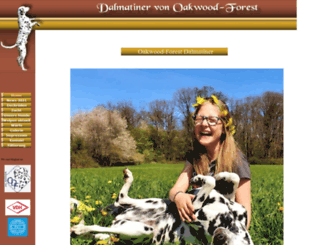 oakwood-forest-dalmatiner.de screenshot
