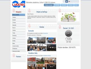 oaluc.edupage.org screenshot