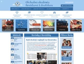 oanba.edupage.sk screenshot