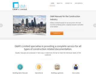 oandmsltd.co.uk screenshot