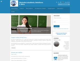 oanitra.edupage.org screenshot