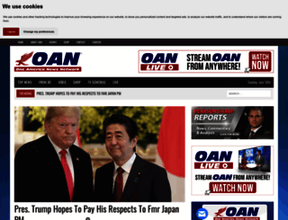 oann.com screenshot