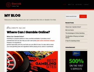 oarcok.org screenshot